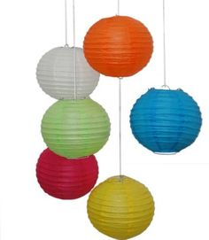 Tanday Turquoise Premium Quality 18 Asian Paper Lantern #6631 3pcs. by Tanday.com. $16.95. These asian lanterns are made of the highest quality material.  They are durable and can be reused.  This is a Tanday branded item.