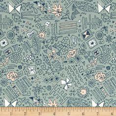 Art Gallery Sketchbook Jersey Knit Doodlie Meander