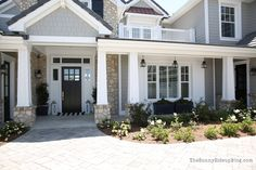 Beautiful custom home tour from Erin at Sunny Side Up Blog.