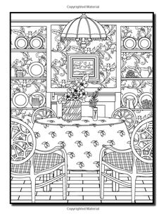 Interior Designs: An Adult Coloring Book with Beautifully Decorated Houses, Inspirational Room Designs, and Relaxing Modern Architecture: Jade Summer, Adult Coloring Books: 9781542786409: Amazon.com: Books