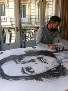 Gabriel Moreno's Illustrations  -  working on 'Laura'