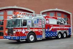 FDNY Celebrates 150th Anniversary with a Patriotic Themed Ferrara Fire Apparatus - Fire Apparatus