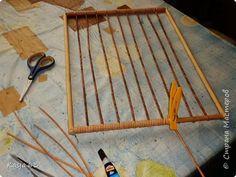 Поделка изделие Плетение Стандартная корзина для хлз нужд Трубочки бумажные фото 6
