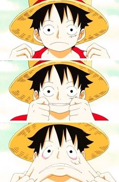 Monkey D. Luffy, One Piece.