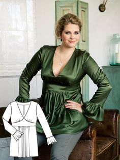Everyday Equestrian: 8 New Plus Size Patterns – Sewing Blog | BurdaStyle.com