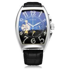 Rectangle Luxury Mechanical Watch