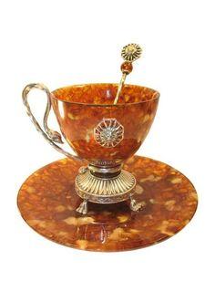Кофейные чашки из натурального янтаря . Обсуждение на LiveInternet - Российский Сервис Онлайн-Дневников