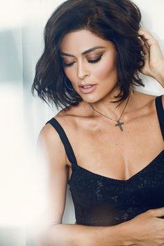 Cabelo Trapézio: Juliana Paes e mais famosas investem no corte capilar da vez  - Vogue   Cabelo
