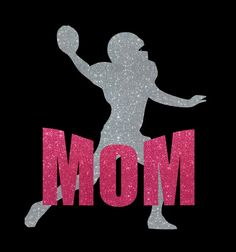 Custom 2 Color Football Mom Car Decal by MyCreativeOutletTime, $6.00