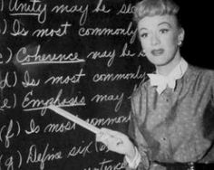 Our Miss Brooks - with Eve Arden    An American situation comey that began as a radio show broadcast on CBS from 1948 to 1957.. When the show was adapted to television (1952–56), it became one of the medium's earliest hits