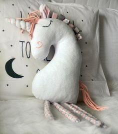 A personal favourite from my Etsy shop https://www.etsy.com/listing/594347075/unicorn-toy-plush-stuffed-unicorn