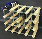 Stacking Wine Rack for 30 Bottles for Wine Soft Drink Sparkling + Spirit Bottles | eBay Champagne Bar, Champagne Bottles, Wine Tree, Stackable Wine Racks, Wine Bottle Rack, Wine Display, Wood Wine Racks, Mural Wall Art, Bar Drinks