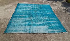 "Big Sale %50 off overdyed rug,anatolian vintage turkish rugs,decorative area rugs,handwoven carpets,natural wool carpet 6'5""x 8'5"" ft"