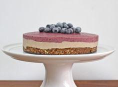 Raw Blueberry Cheesecake | Deliciously Ella
