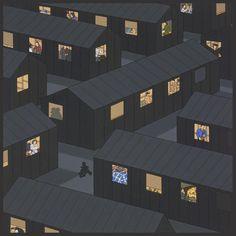 "Roger Shimomura - ""Night Watch #3"""