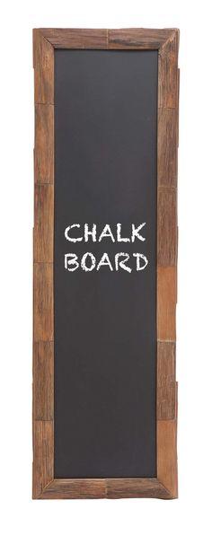 "66"" Tall Long Rustic Wood Chalk Blackboard Western Country Restaurant Decor"