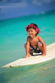 little surfer child. too sweet!