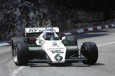 Keke Rosberg Williams - Ford , Monaco 1982