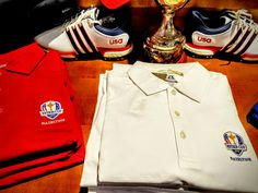 Cutter & Buck Ryder Cup apparel at Chevy Chase CC