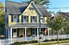 Everyone Wants That White Picket Fence! Ideal American Home In Kensington,  MD. Small Town Charm Right Near The City.