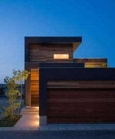 Lake house- - Explore, Collect and Source architecture Architecture Résidentielle, Amazing Architecture, Contemporary Architecture, Modern Exterior, Exterior Design, Interior And Exterior, Modern Garage, Beautiful Homes, House Design