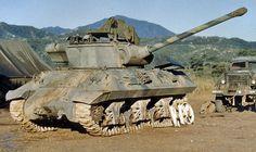 M36 Jackson in Korean War Colour by Phil Symond