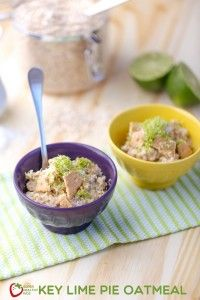 Key Lime Pie Oatmeal Recipe