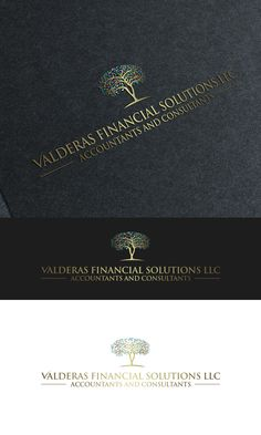 Valderas Financial Solutions LLC needs a logo d... Modern, Bold Logo Design by logo_s