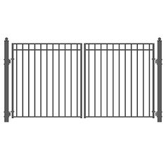 ALEKO Madrid Style Iron Wrought Gate 12 High Quality Ornamental Dual Swing Driveway Gates 12 ** Visit the image link more details.