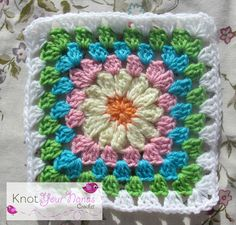 Knot Your Nana's Crochet: Granny Square Crochet Along Revisited (Week Four)11