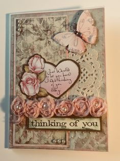 Thinking of you card - Scrapbook.com