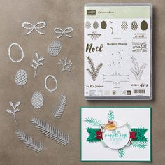 The Christmas Pines Bundle is one of My Favorite Things from the Stampin' Up! 2016-2017 Holiday Catalog.  For more details about this product and to shop, visit: http://www.stampinup.com/ECWeb/ProductDetails.aspx?productID=143496&dbwsdemoid=2026178