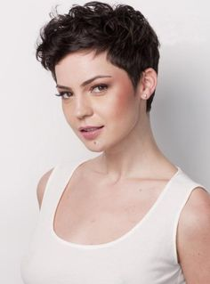2014 New Haircut Full Lace Wig 6 Inches 100% Human Hair Stylish