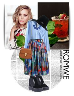 """""""Romwe 9"""" by dinna-mehic ❤ liked on Polyvore featuring Olsen, Chloé, BERRICLE, rag & bone and romwe"""