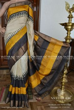 Welcome to Vasthram Silk Ethnicity Redefinded Tussar Silk Saree, Chiffon Saree, Indian Silk Sarees, Indian Beauty Saree, Fancy Sarees, Party Wear Sarees, Saree Floral, Wedding Silk Saree, Silk Saree Blouse Designs