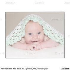 Personalized Add Your Baby Or Special Portrait Wood Wall Art Add your cute baby boy or girl, kids, family or special photo to this wall panel print.