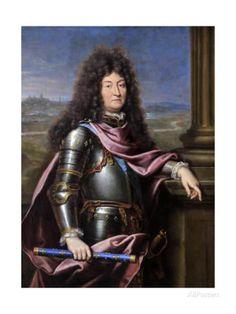 Louis XIV, King of France (1638-171) Giclée-Druck von Pierre Mignard bei AllPosters.de