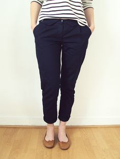 Jacques trousers. Sewing pattern by Republique du Chiffon