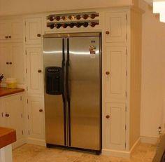over the refrigerator ideas photos com ideabooks 2409551 list storage space gem above the. Black Bedroom Furniture Sets. Home Design Ideas