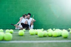 vintage tennis engagement shoot. game. set. match. love-all.