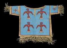 A Sioux beaded boy's shirt