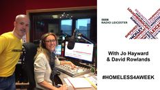 View this short #video #audio recording from yesterday's breakfast show on #BBCLeicester about the #HOMELESS4AWEEK project in #Leicester #homelessness #homeless