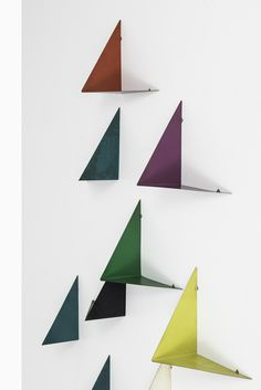 Poul Cadovius Butterfly wall shelves at Studio Schalling