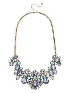 Love this statement necklace #baublebar.  can't wait to glam up jeans and a plain white tee