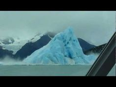 How cool...... actually being able to see that happen.   Community: Huge Iceberg Flip Over Off Coast Of Argentina