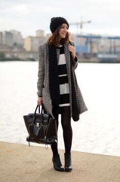 Layering is a must for winter but, I will admit that styling a layered look can be a bit intimidating at times.Test out these 5 layered winter outfits. #fallfashion #winterfashion  Hot Beauty Health blog