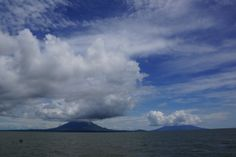 Volcanoes Concepcion (left) Maderas (right) #Ometepe #Nicaragua