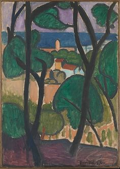 Henri Matisse - View of Collioure - 1907 - Oil on canvas.