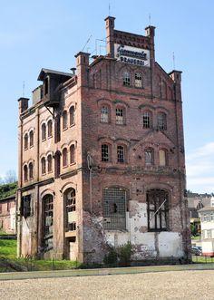 Germania-Brauerei Gebäude - Sudhaus, von REWE aus - 2015