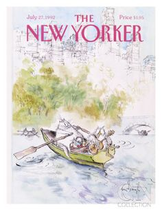 The New Yorker Cover - July 27, 1992 Premium Giclee Print